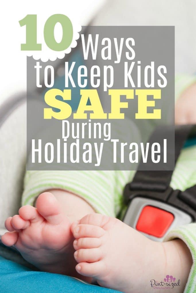 keep kids safe during holiday travel