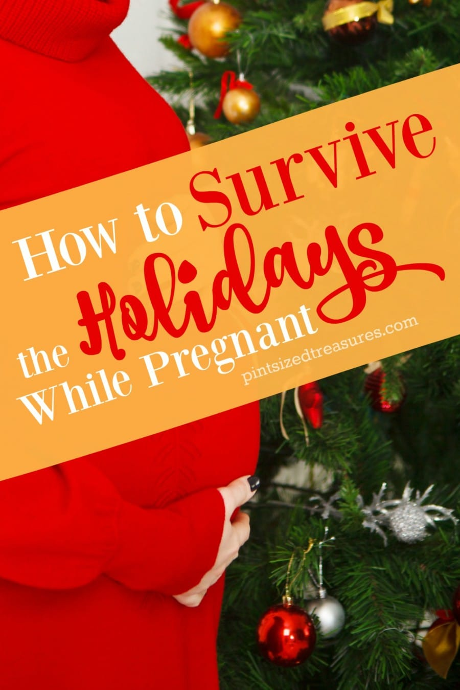holiday survival guide for pregnant women