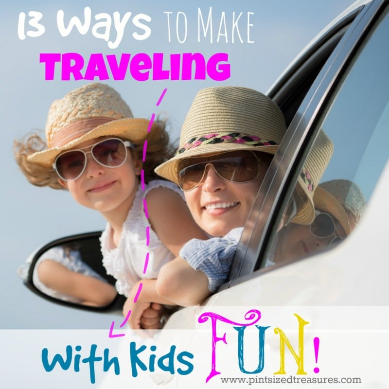 fun ideas for road trips with kids