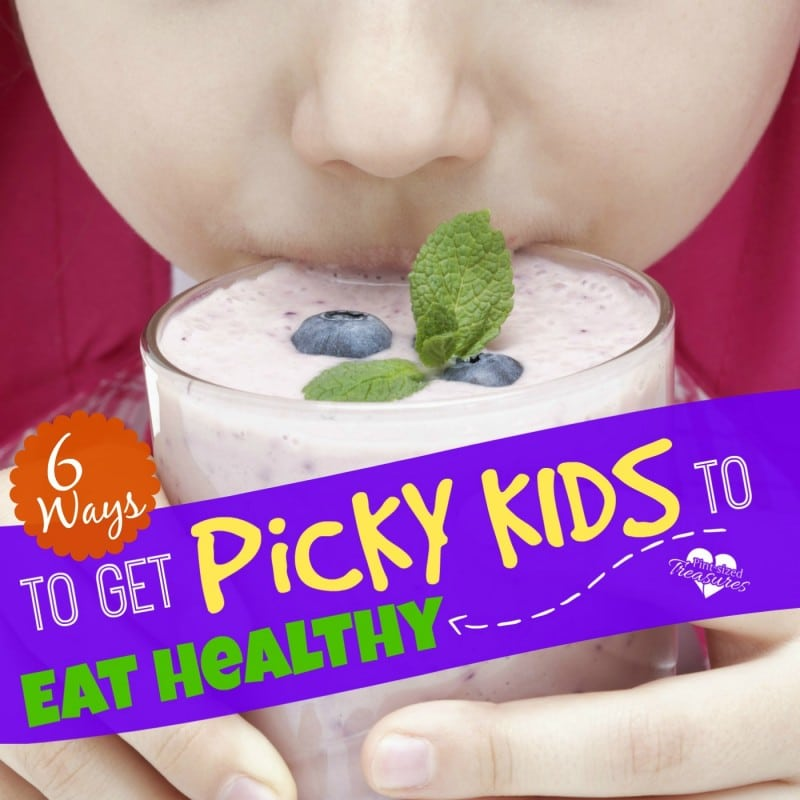 how to get picky kids to eat