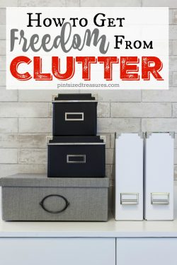 How to Get Freedom From Clutter