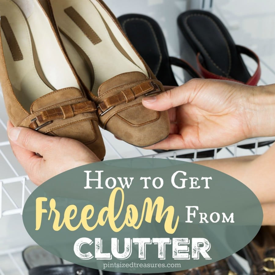 free yourself for clutter