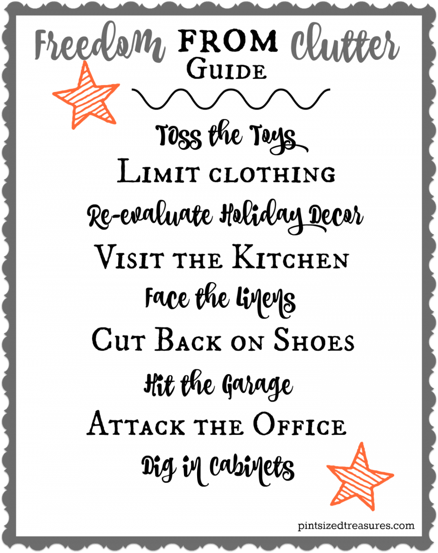 freedom from clutter guide