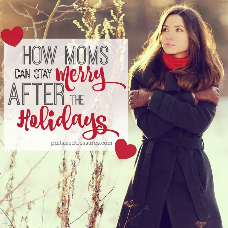 help for moms after the holidays