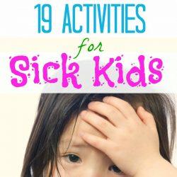 sick kid days