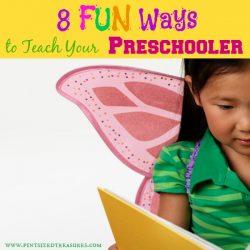 8 Fun and Simple Ways to Teach Your Preschooler