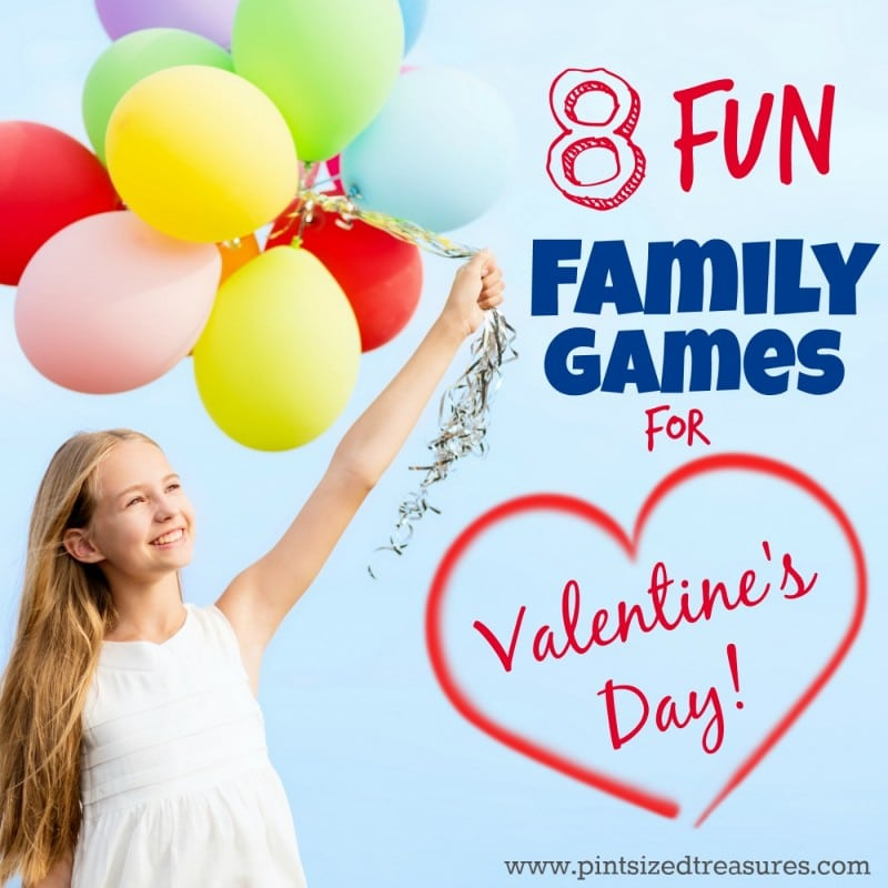 Family Games for Valentine's Day