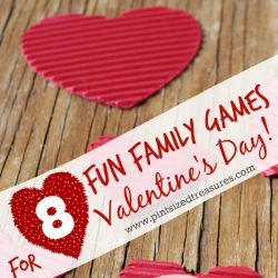 Easy family games for Valentine's Day
