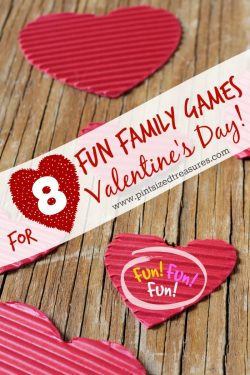 8 Fun Family Games for Valentine's Day!
