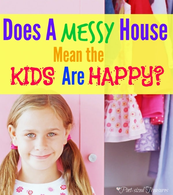 clean house happy kids
