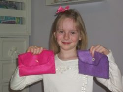 Project for Little Girls–Pocket Purse