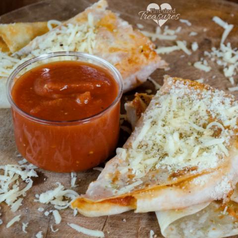 easy pizza quesadillas recipe