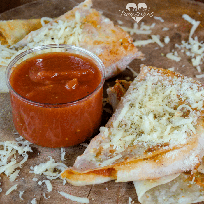 easy pizza quesadillas recipe