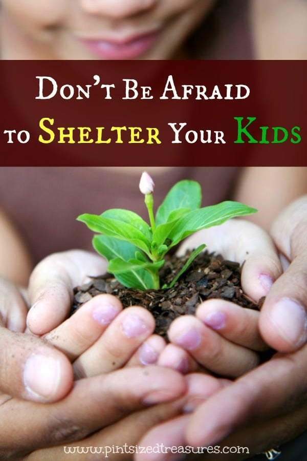 Don't Be Afraid to Shelter Your Children!