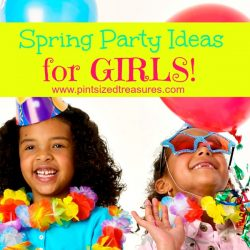 spring party girls
