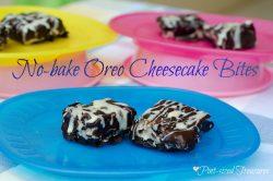 No-bake Oreo Cheesecake Bites — Caution: Endangered Dessert, Once Prepared