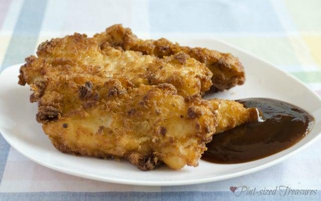 Crumb Snatchin' Chicken Tenders