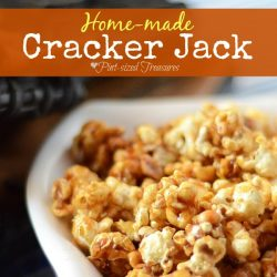 home-made cracker jack recipe