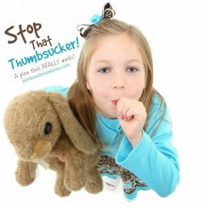 tips on stopping thumb sucking in children