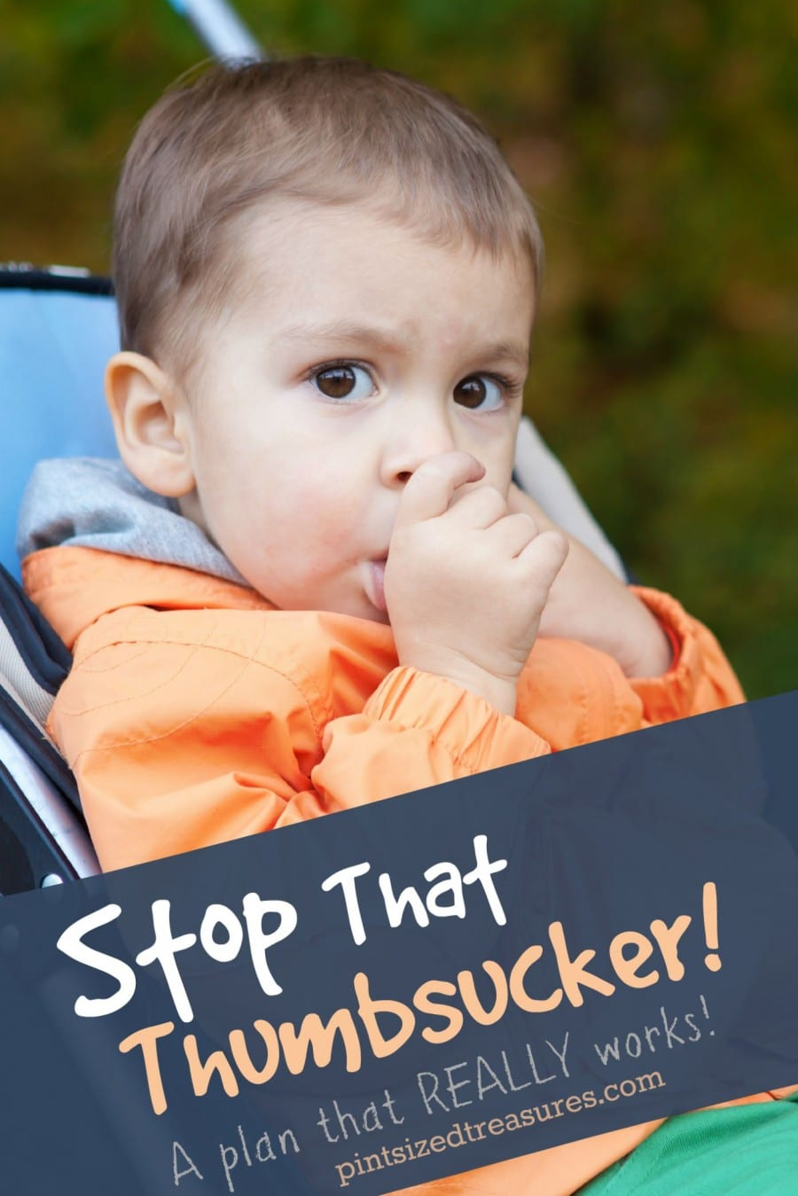how to stop thumb sucking in children