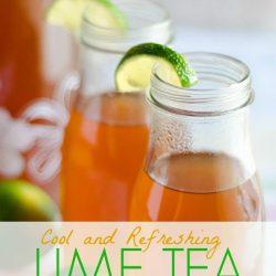 Iced Lime Tea