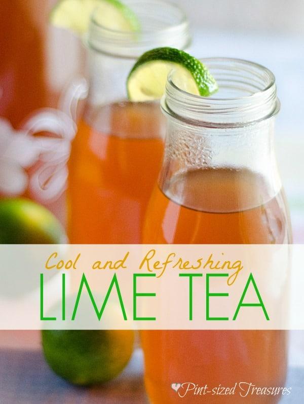 Cool and Refreshing Lime Tea
