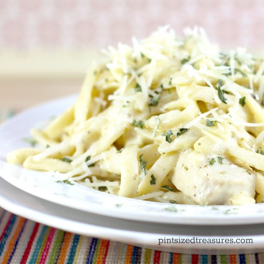 quick and easy chicken alfredo recipe