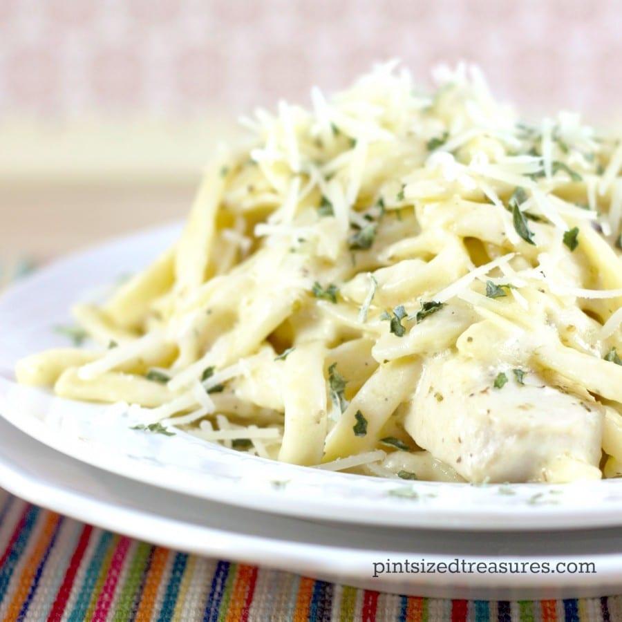 quick and easy chicken alfredo recipe