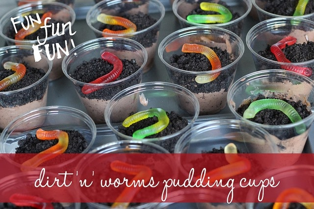 Dirt and Worms–A Fun Recipe to Make With and For Your Kids