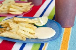 Mama's Best French Fries and The Best Dipping Sauce on Planet Earth–Aoili Sauce!