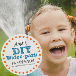 Mom's DIY Water Park For Kids