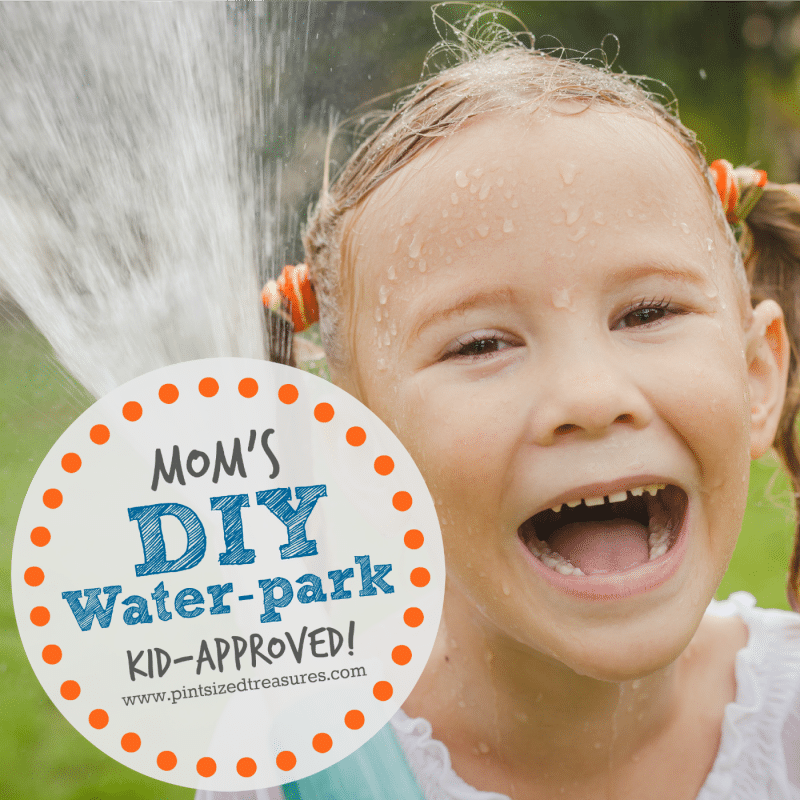 diy waterpark for kids