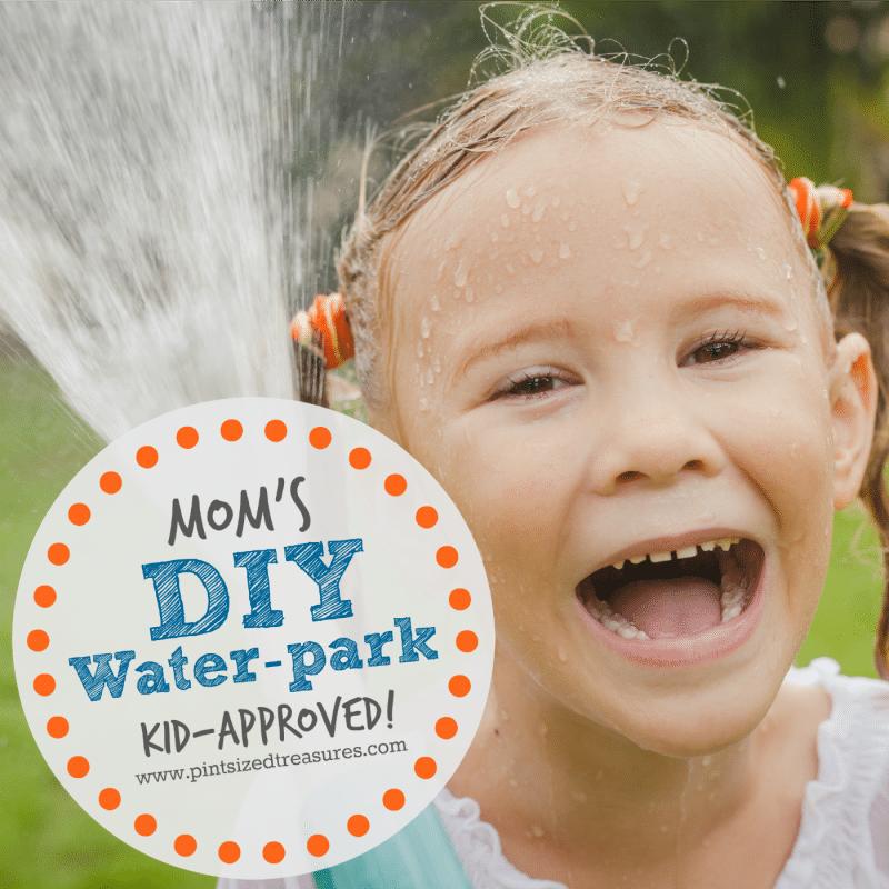 diy waterpark for kids