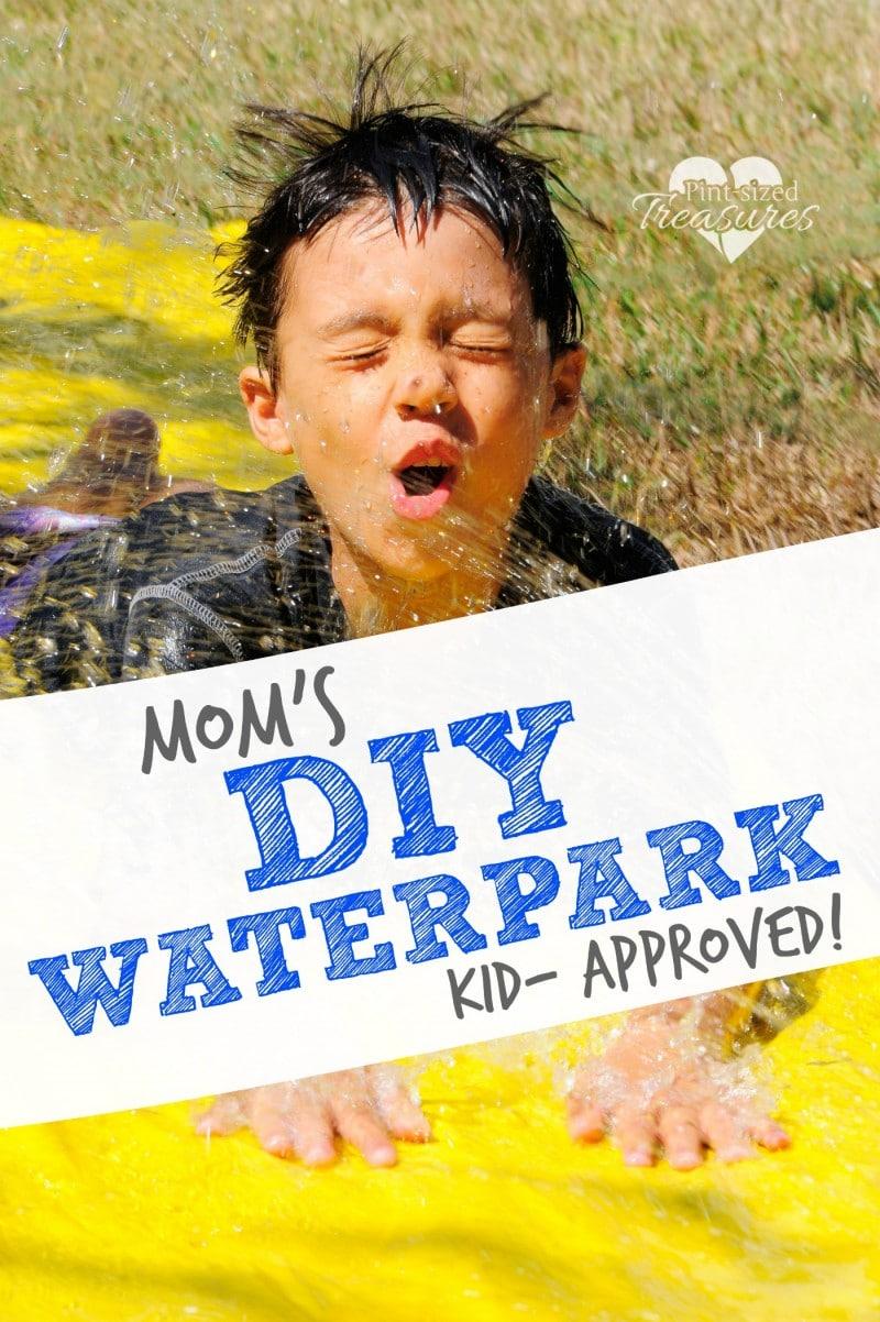diy waterparkfor kids