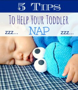 5 Quick Tips to Help Your Toddler Nap