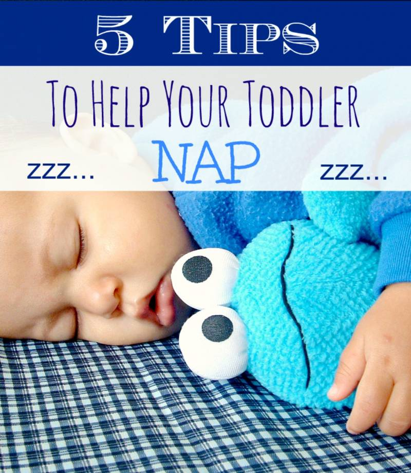 Tips To Help Your Toddler Sleep