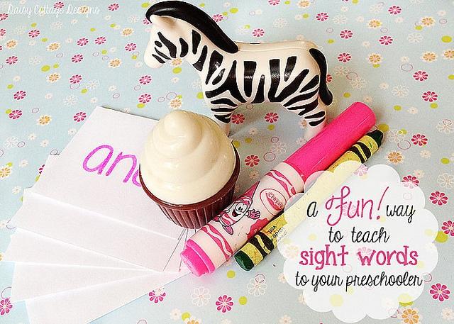 Sight Words for Preschoolers