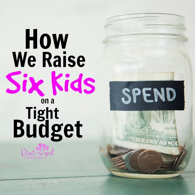how we raise six kids on a tight budget