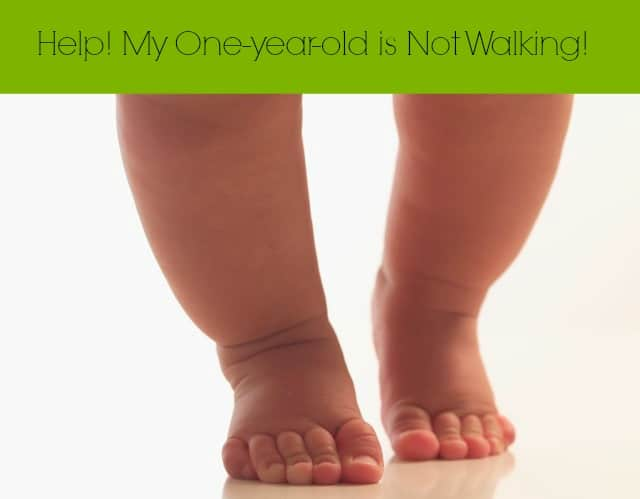 one year old not walking