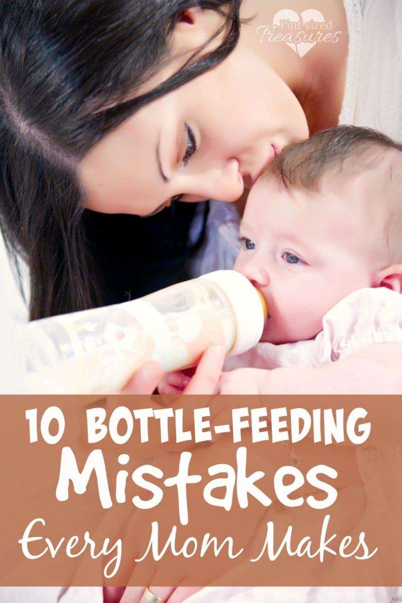common bottle-feeding mistakes