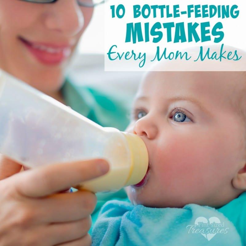 common bottle-feeding mistakes