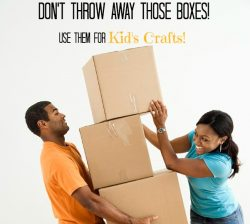 Fun Crafts for Kids Using Cardboard Boxes