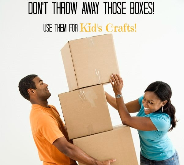 Fun With Cardboard! 7 Fun Crafts for Kids Using Boxes