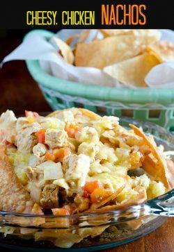 Cheesy Chicken Nachos—Speedy and Fresh!