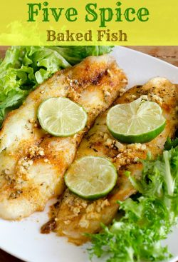 Five Spice Baked Fish — Quick and Flavorful!