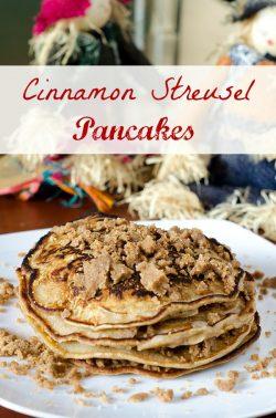 Cinnamon Streusel Pancakes — Wake Up to Sweetness!