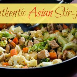 Authentic Asian stir-fry