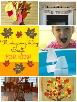 Thanksgiving Day Craft Round-up!