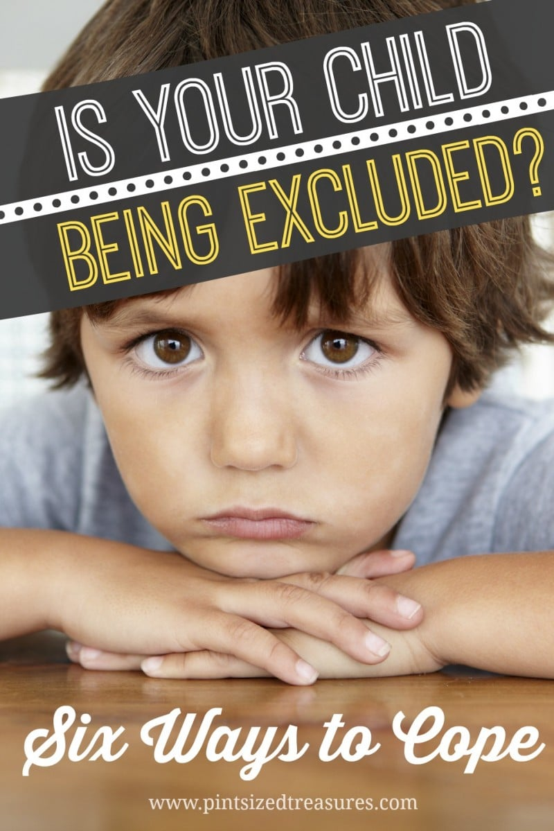 How to Cope with Your Child Being Excluded
