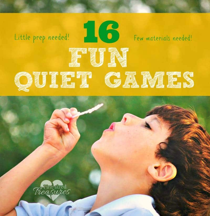 fun quiet games